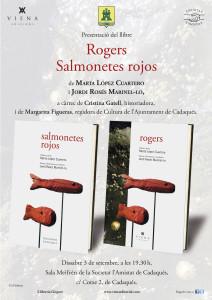 CARTELL ROGERS i SALMONETES ROJOS - Cadaqués
