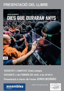 presentació llibre Jordi Borràs