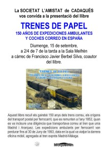 cartell TRENES