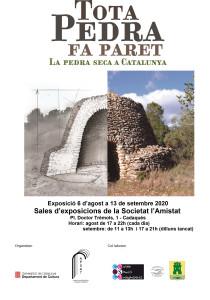 Cartell Expo Pedra seca-Cadaqués